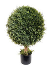 "Cedar Topiary Ball - 34"" Tall - Green"
