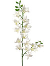 "Dendrobium Orchid Stem - 34"" Tall - Set of 12 - Choice of Color"