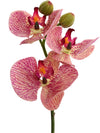 "Phalaenopsis Orchid Pick - 10"" Tall - Set of 12 - Choice of Color"
