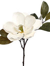 "Magnolia Stem - 23"" Tall - Set of 12 - White"