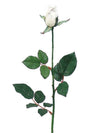 "Planters Rose Bud Stem - 27"" Tall - Box of 12 - Choice of Color"