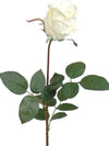 "Rose Bud Stem - 29.5"" Tall - Set of 24 - Choice of Color"