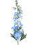 "Delphinium Larkspur Stem - 36.5"" Tall - Box of 12 - Choice of Color"