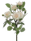 "Mini Rose Branch Spray - 25.5"" Tall - Box of 12 - Choice of Color"