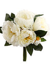 "Peony Bouquet - 12"" Tall - Set of 12 - Choice of Color"