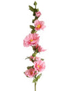 "Hollyhock Stem - 34"" Tall - Box of 12 - Choice of Color"