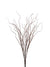 "Curly Willow Twig Bush - 33"" Tall - Box of 12 - Brown"