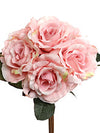 "Rose Bouquet - 14"" Tall - Box of 12 - Choice of Color"