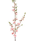 "Peach Blossom Branch Spray - 41"" Tall - Box of 12 - Choice of Color"