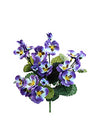 "Pansy Bush - 11.5"" Tall - Box of 24 - Choice of Color"
