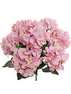 "Hydrangea Bush - 20"" Tall - Box of 6 - Choice of Color"
