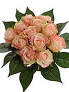 "Mini Rose Bouquet - 10"" Tall - Box of 6 - Choice of Color"