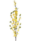 "Forsythia Branch Spray - 40"" Tall - Box of 12 - Yellow"