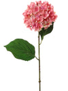 "Hydrangea Stem - 22"" Tall - Set of 12 - Choice of Color"