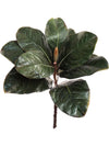 "Magnolia Foliage Spray - 12"" Tall - Box of 24 - Green"