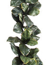 Magnolia Foliage Garland - 6' Long - Set of 2 - Green