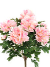 "Peony Bush - 24"" Tall - Set of 4 - Choice of Color"