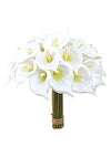 "Calla Lily Bundle - 9"" Tall - Set of 6 - White"