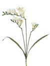 "Freesia Spray - 32"" Tall - Box of 24 - White"