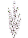 "Cherry Blossom Branch Spray - 52"" Tall - Box of 12 - Choice of Color"