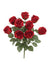 "Rose Bush - 17"" Tall - Box of 12 - Choice of Color"
