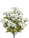 "Queen Anne's Lace Bush - 17"" Tall - Box of 12 - White"