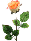 "Rose Bud Stem - 18"" Tall - Set of 24 - Choice of Color"