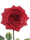 "Rose Stem - 20"" Tall - Box of 12 - Choice of Color"