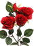 "Rose Spray - 24"" Tall - Box of 24 - Choice of Color"
