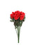 "Rose Bud Stem - 9"" Tall - Box of 144 - Red"