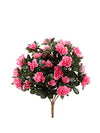 "Azalea Bush - 18"" Tall - Box of 6 - Choice of Color"