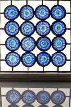 Millefiori stained glass