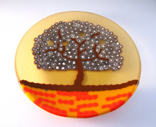 Tree Small Plate Murano glass