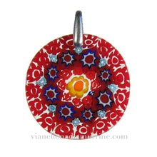 Venetian glass pendant murrina