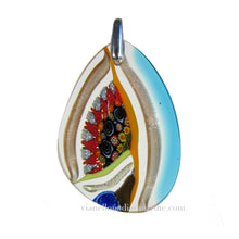 mosaic glass pendant
