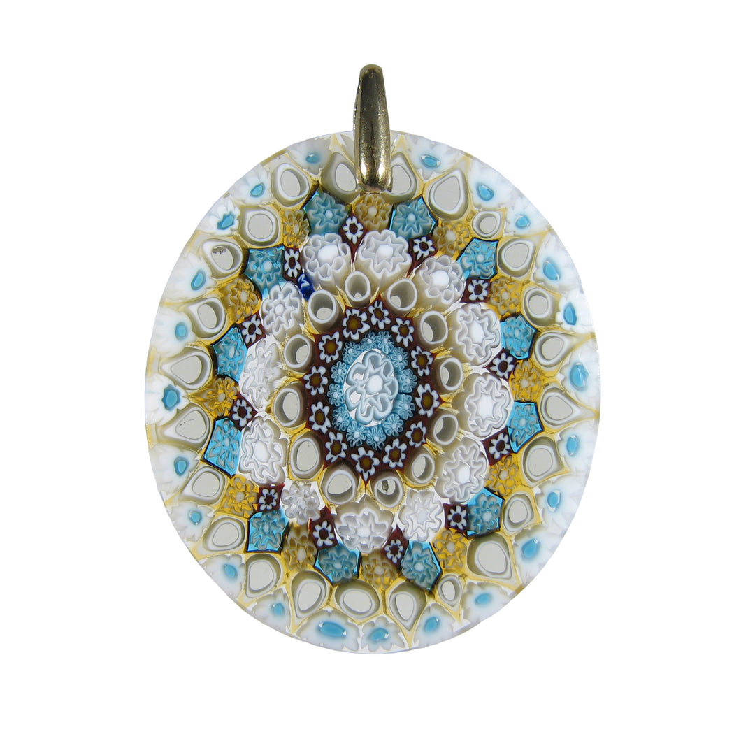 Handcrafted glass pendant