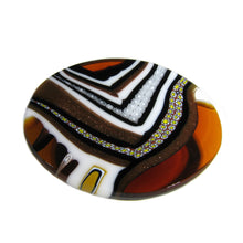 Brooch Murano glass