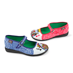 Chocolaticas® Lady Poker Women's Mary Jane Flat