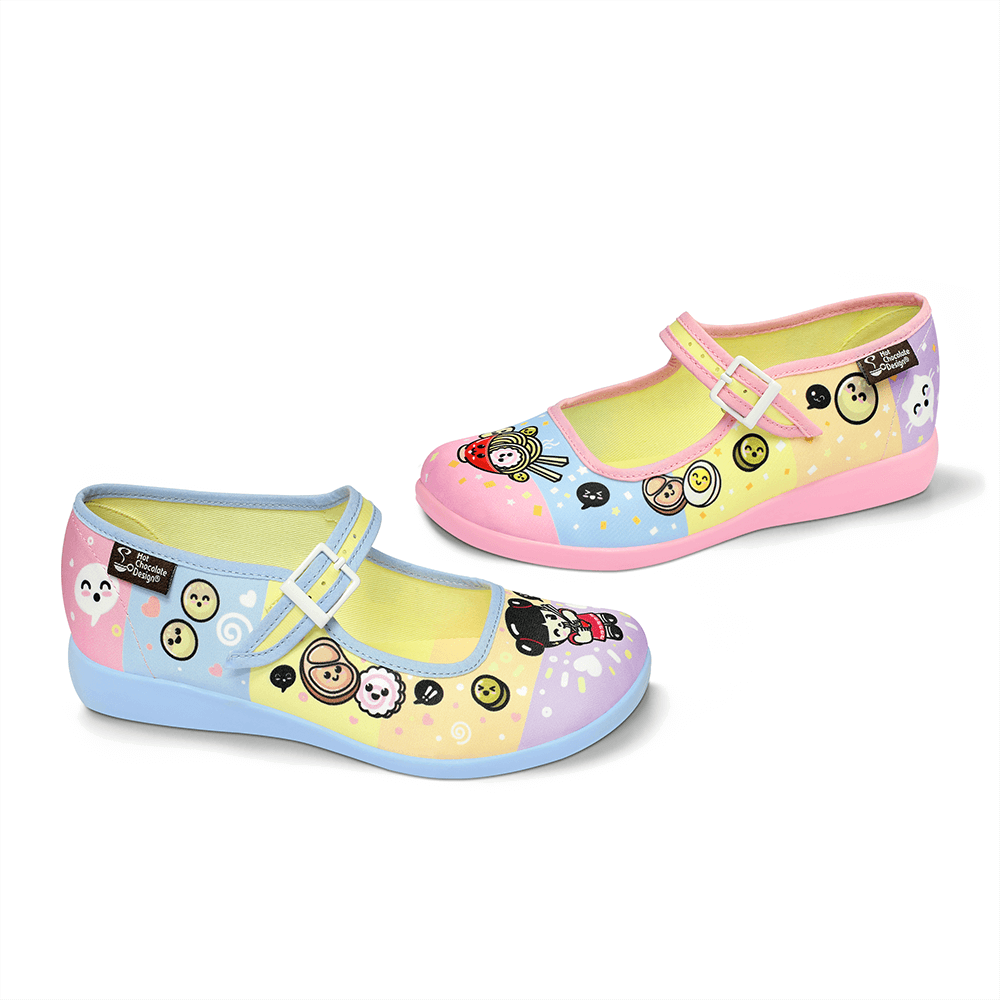 Chocolaticas® Ramen Women's Mary Jane Flat