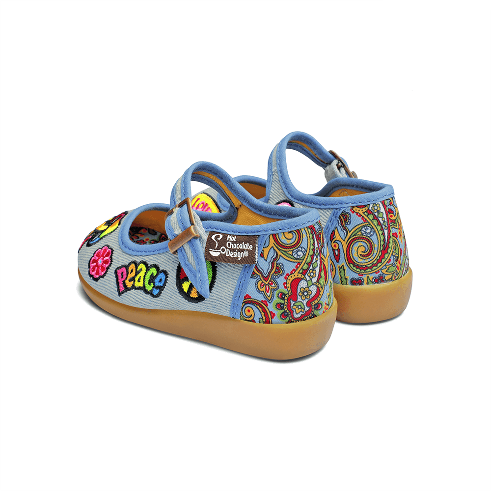 Mini Chocolaticas® Hippie Girls Mary Jane Flat