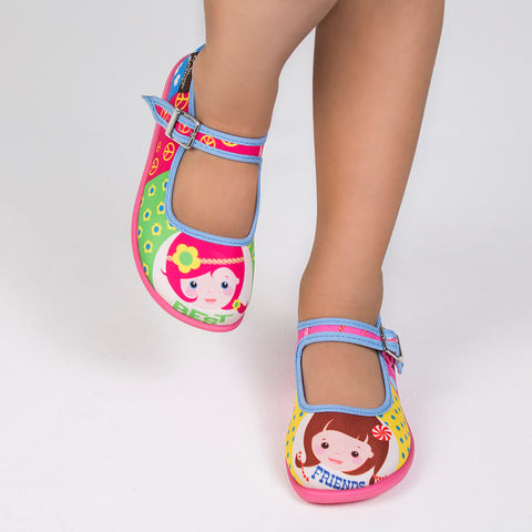 Mini Chocolaticas® Best Friends Girls Mary Jane Flat