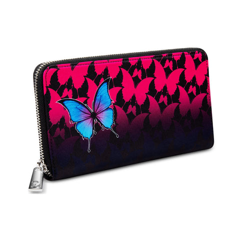 Chocolaticas® Dark Butterfly Women's Wallet