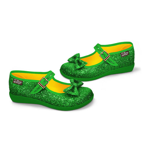 Chocolaticas® Emerald Women's Mary Jane Flat
