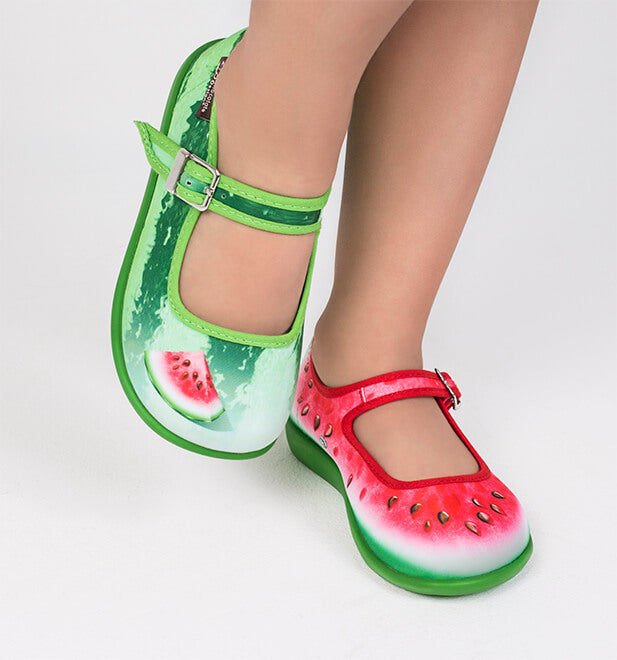 Mini Chocolaticas® Watermelon Girls Mary Jane Flat