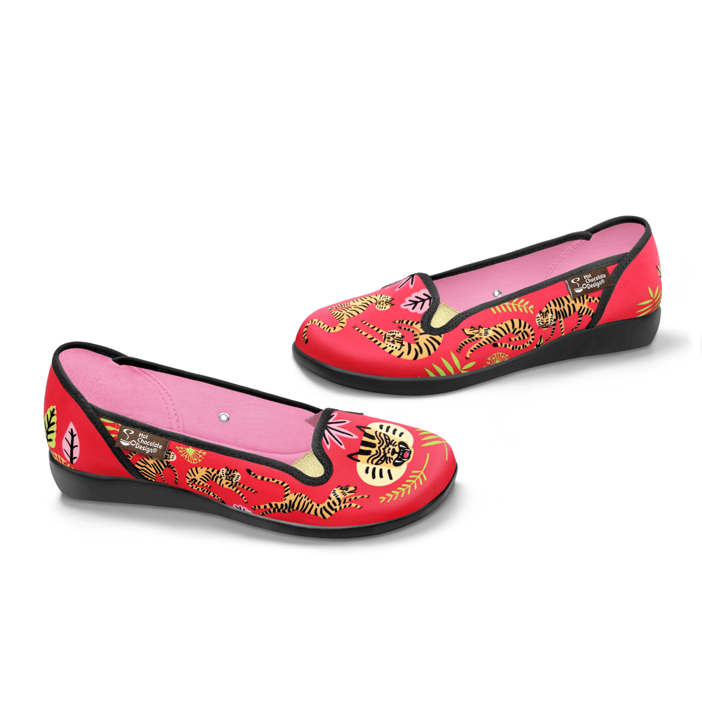 Chocolaticas® Tigris Women's Slip-On