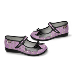 Chocolaticas® Betty Bones Women's Mary Jane Flat