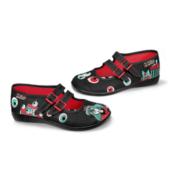 Chocolaticas® Cyclop Women's Mary Jane Flat
