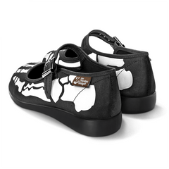 Chocolaticas® Bella Hasta La Muerte Women's Mary Jane Flat