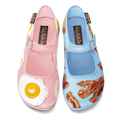 Chocolaticas® Breakfast Women's Mary Jane Flat