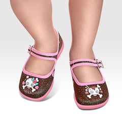 Mini Chocolaticas® Candy Skull Girls Mary Jane Flat